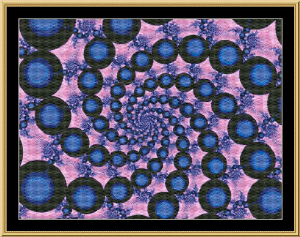 Fractal Mania 01 | Crafting | Cross-Stitch | Other