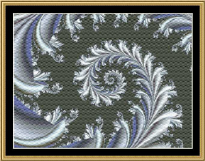 Fractal Mania 04 | Crafting | Cross-Stitch | Other