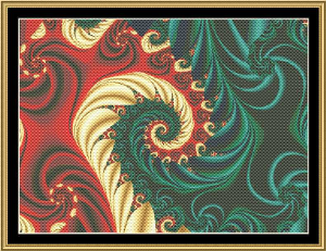 Fractal Mania 06 | Crafting | Cross-Stitch | Other