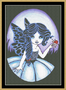 Little Blue | Crafting | Cross-Stitch | Other