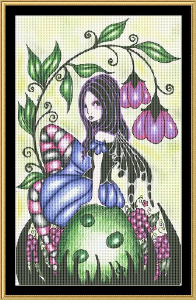 Mullberry | Crafting | Cross-Stitch | Floral