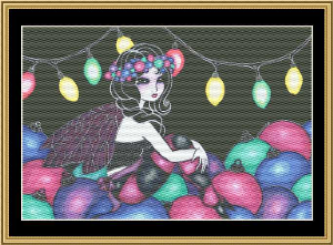 Christmas Fairy II | Crafting | Cross-Stitch | Christmas