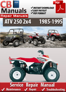 Polaris 250 2x4 1985-1995 Service Repair Manual | eBooks | Automotive