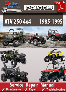 Polaris 250 4x4 1985-1995 Service Repair Manual | eBooks | Automotive