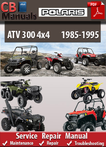 Polaris 300 4x4 1985-1995 Service Repair Manual | eBooks | Automotive