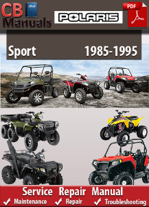 Polaris Sport 1985-1995 Service Repair Manual | eBooks | Automotive