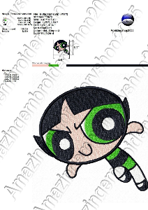 The Powerpuff girls - Embroidery design | Crafting | Sewing | Other