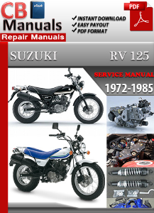 Suzuki Rv 125 1972-1985 Service Repair Manual | eBooks | Automotive