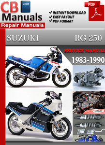 Suzuki Rg 250 1983-1990 Service Repair Manual | eBooks | Automotive