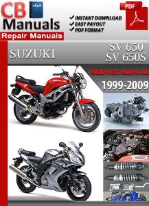 Suzuki Sv 650 1999-2009 Service Repair Manual | eBooks | Automotive