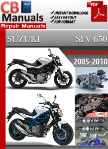 Suzuki Sfv 650 2005-2010 Service Repair Manual | eBooks | Automotive