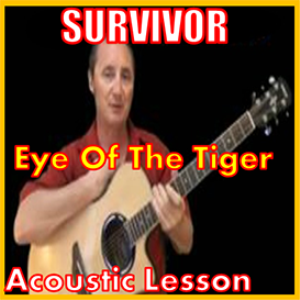 Learn to play Eye Of The Tiger by Survivor | Movies and Videos | Educational