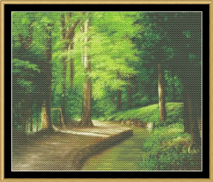 Peaceful Path | Crafting | Cross-Stitch | Wall Hangings