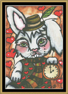 wonderland series - white rabbit