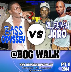 Killamanjaro Vs Bass Odyssey Cd (@bog Walk Pt1) | Music | Reggae