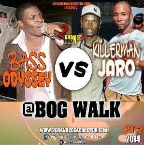 Killamanjaro Vs Bass Odyssey Cd (@bog Walk Pt2) | Music | Reggae
