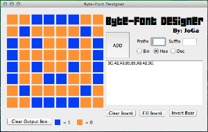 Byte-Font Designer | Software | Utilities