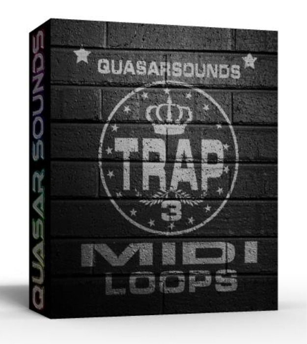 First Additional product image for - Trap Midi Loops Vol.3