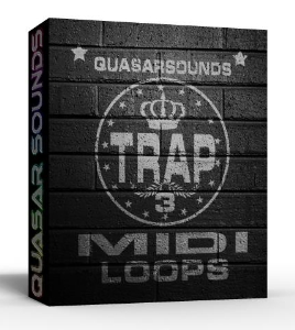 trap midi loops vol.3