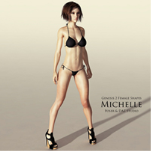 genesis 2 female shapes: michelle