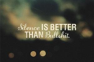 silence: exchange tips