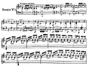 Piano Sonata No.3, Op.2 No.3 in C Major. L.V. Beethoven. Ed. Breitkopf Urtext (Karl Krebs), Vol. I  (Kalmus Reprint). Restored. | eBooks | Sheet Music