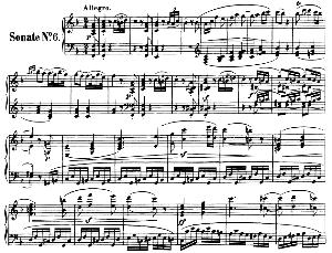 Piano Sonata No.6, Op.10 No.2 in F Major. L.V. Beethoven. Ed. Breitkopf Urtext (Karl Krebs), Vol. I  (Kalmus Reprint). Restored. | eBooks | Sheet Music