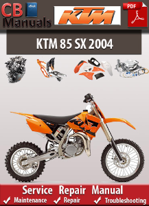 KTM 85 SX 2004 Service Repair Manual | eBooks | Automotive