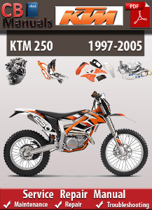 KTM 250 1997-2005 Service Repair Manual | eBooks | Automotive