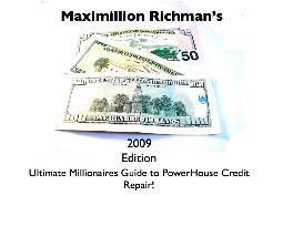 Richmans Ultimate Millionaires Guide to Powerhouse Credit Repair | eBooks | Business and Money