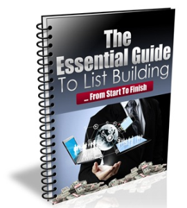 The Essential Guide To List Building | eBooks | Education