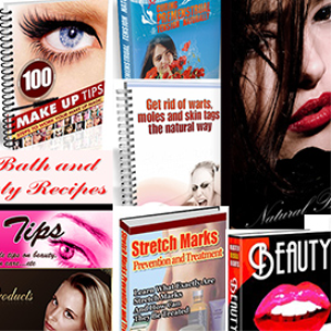 """beauty digital package"", 15 highly professional e-books ( 144mb zip file)"