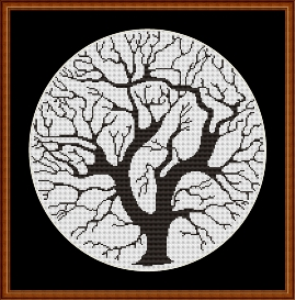 Easy Tree Round | Crafting | Cross-Stitch | Other