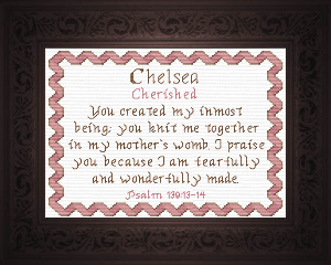 Name Blessings -  Chelsea | Crafting | Cross-Stitch | Other