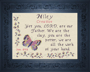 Name Blessings -  Hiley | Crafting | Cross-Stitch | Other