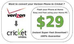 verizon 2 cricket fast flash