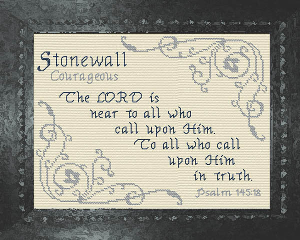 Name Blessings -  Stonewall | Crafting | Cross-Stitch | Religious