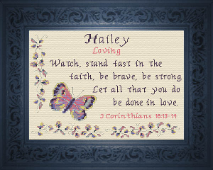 Name Blessings -  Hailey | Crafting | Cross-Stitch | Other