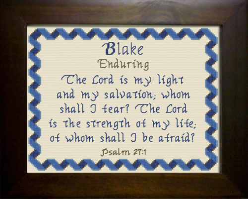 First Additional product image for - Name Blessings - Blake