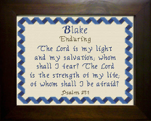 name blessings - blake