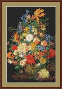 Flower Vase   Crafting   Cross-Stitch   Other