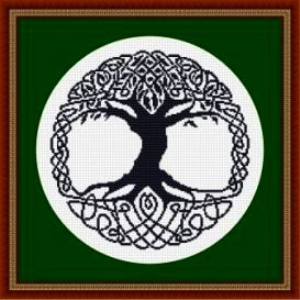 Celtic Tree | Crafting | Cross-Stitch | Other