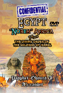 """confidential"" Egypt North Africa Plus The Divine Order Of The Soldiers Of Israel 