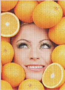 Oranges | Crafting | Cross-Stitch | Miscellaneous