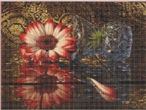 Gerbera | Crafting | Cross-Stitch | Floral