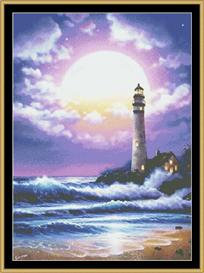 Light House Of Dreams Ii | Crafting | Cross-Stitch | Wall Hangings