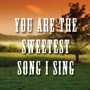 You Are The Sweetest Song I Sing Backing Track | Music | Backing tracks