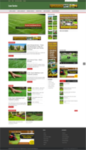 Lawn Service Niche Blog | Other Files | Patterns and Templates