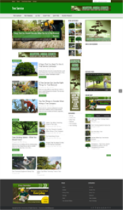 Tree Service Niche Blog | Other Files | Patterns and Templates