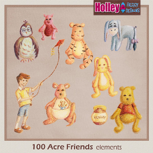 100 Acre Friends | Other Files | Scrapbooking